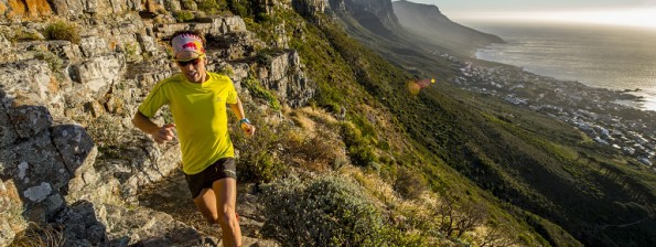 Ryan Sandes in action during a traning day around Cape Town, South Africa on the 17th November, 2014