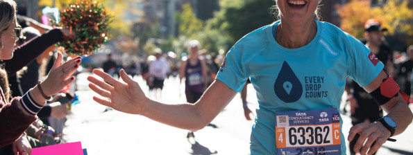 Mina New York Marathon - Kelvin Trautman